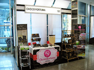 Pameran cokelat coklat gedung SMESCO Fashion Food