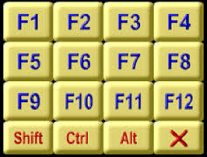 functions of keyboard keys f1 to f12