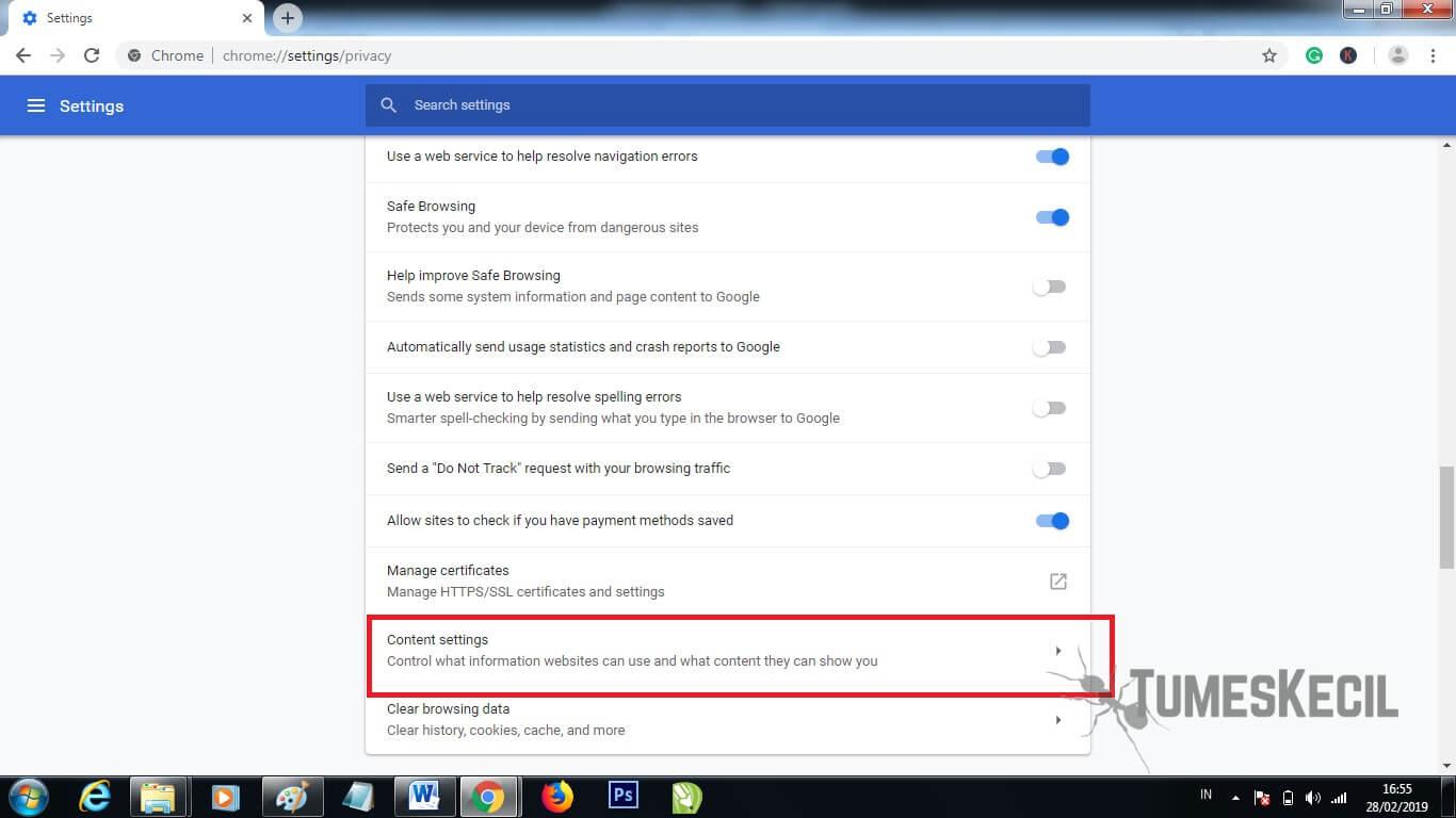 cara mempercepat browsing di google chrome