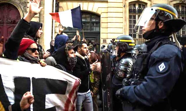 احتجاجات-فرنسا