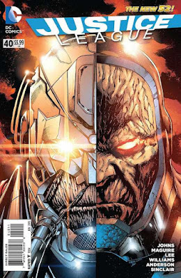 Justice League 40 Darkseid wars