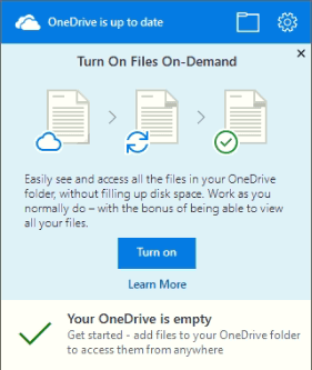 How to Customize OneDrive Files On-Demand in Windows 10