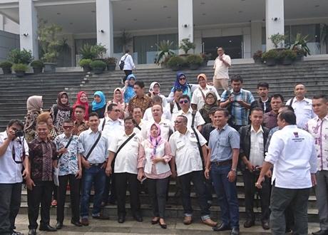 Kota Bandung Bakal Contoh DPRD Padang terkait Harmonisasi Hubungan dengan Wartawan