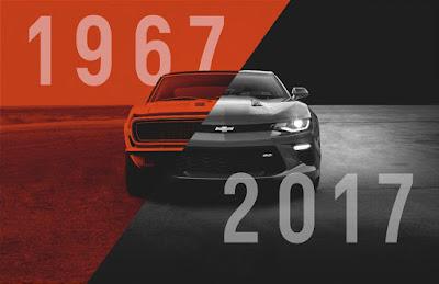 Celebrate the Camaro Turning Fifty