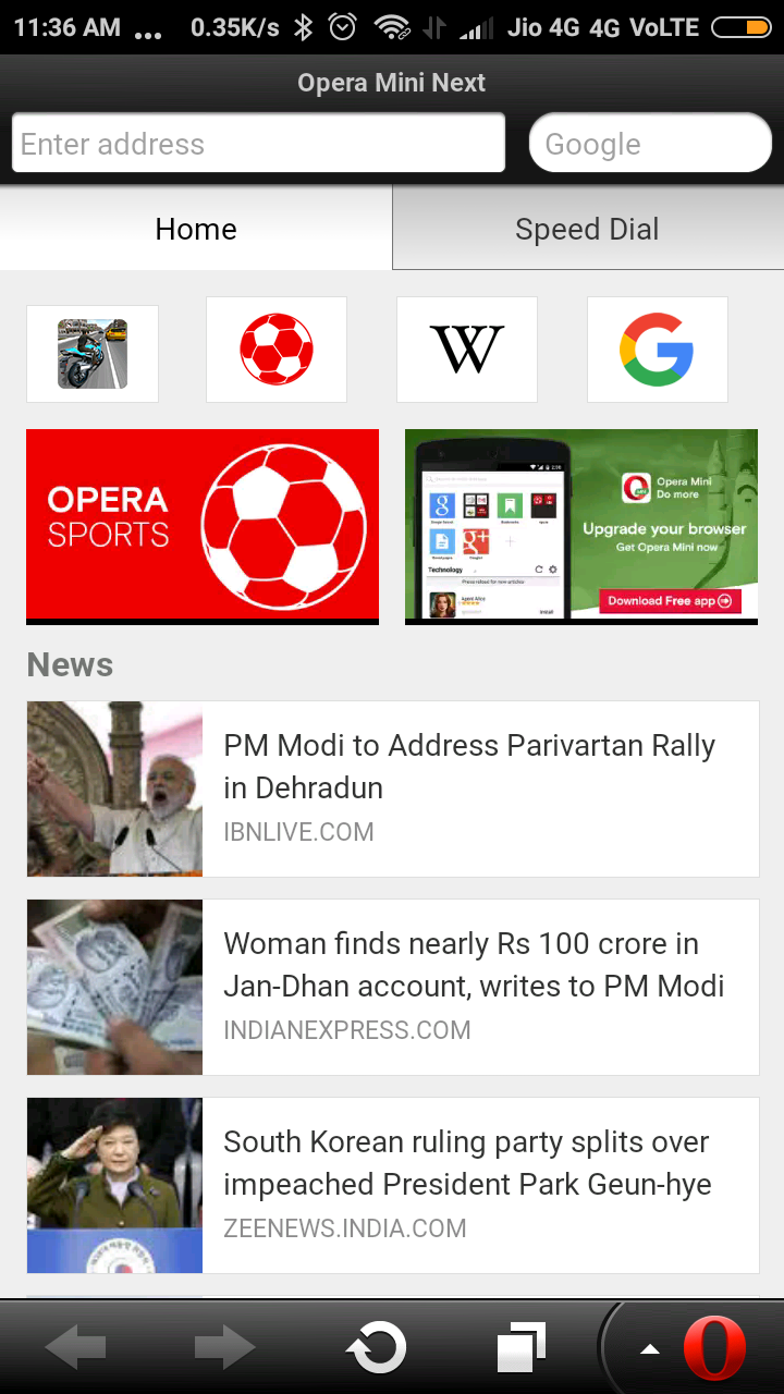 Opera mini apk 2016 version | Opera Mini Downloads 2016