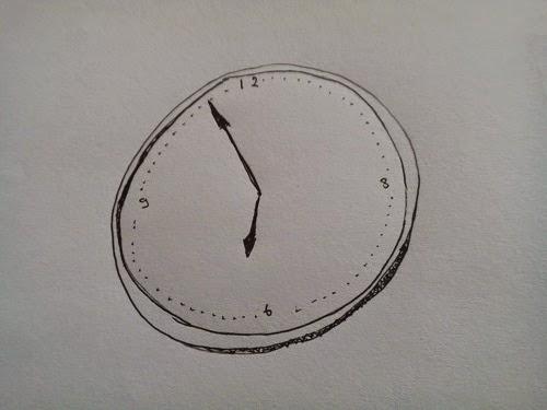jam dinding yang menggelisahkan