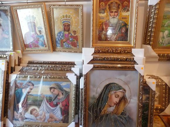 Гошевский Свято-Преображенский монастырь. Иконная лавка