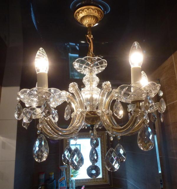 Leuchter Shop in München Antiker Kronleuchter Kristall ...