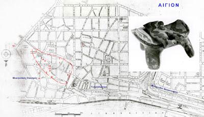 Μυκηναϊκό Αίγιο: Οι σωστικές ανασκαφές στη σύγχρονη πόλη