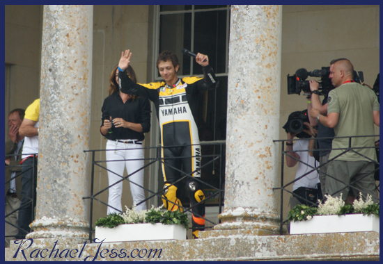 Rossi at Goodwood FOS 2015