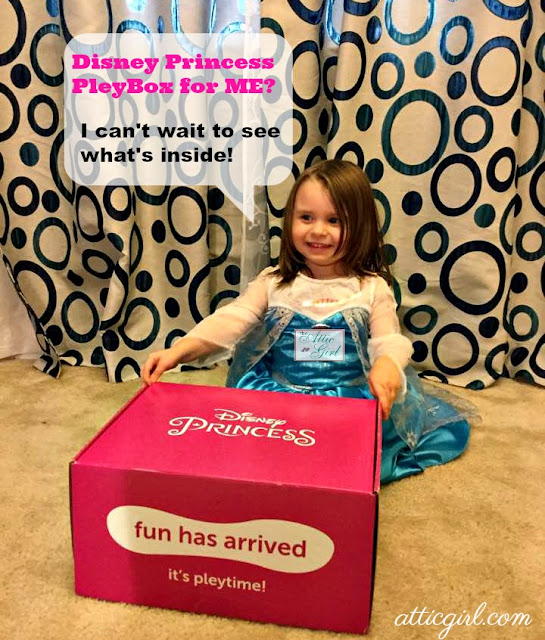 subscription box review, Disney review, toys