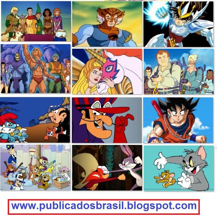Publicados Brasil Os 20 Melhores Desenhos Animados Dos Anos 1980