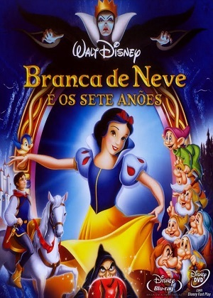 Branca de Neve e os Sete Anões - Blu-Ray Filmes Torrent Download capa