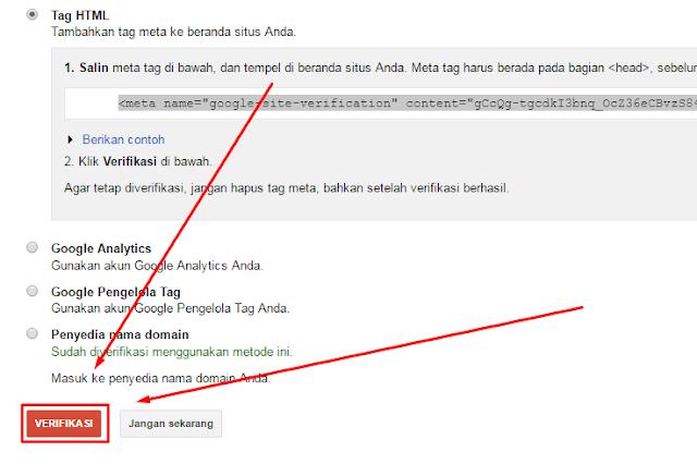 cara daftar website ke google adsense