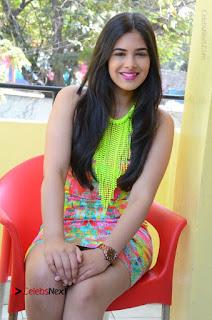 Telugu Actress Prasanna Stills in Short Dress at Inkenti Nuvve Cheppu Press Meet Stills  0141.JPG