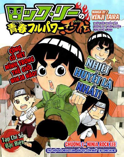 Rock Lee no Seishun Full-Power Ninden Manga
