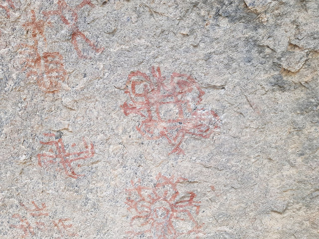 Cave paintings, alwar, dadhikar, rajasthan