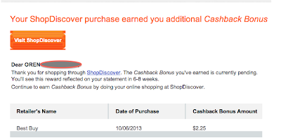 Oren's Money Saver: Unlimited Cashback! - Best Buy and Discover Card