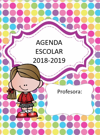 Agenda Escolar Colección Editables