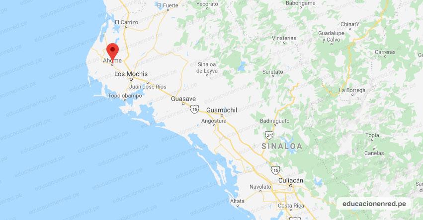 Temblor en México de Magnitud 4.2 (Hoy Sábado 17 Agosto 2019) Sismo - Epicentro - Ahome - Sinaloa - SIN. - SSN - www.ssn.unam.mx