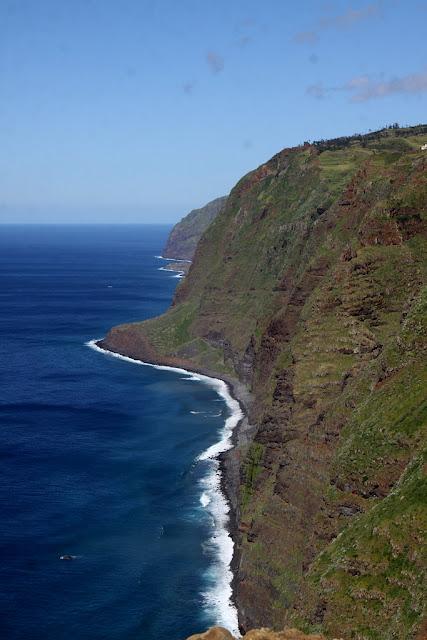 klify na Maderze