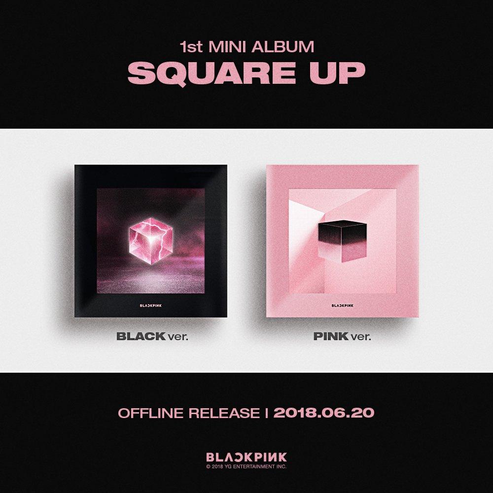 Buy BLACKPINK 1st MINI ALBUM [SQUARE UP] Now