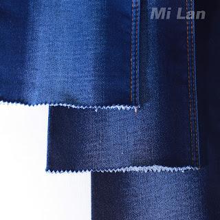 Vải Jean Nữ Bố 2 da Cotton thun mạnh W106