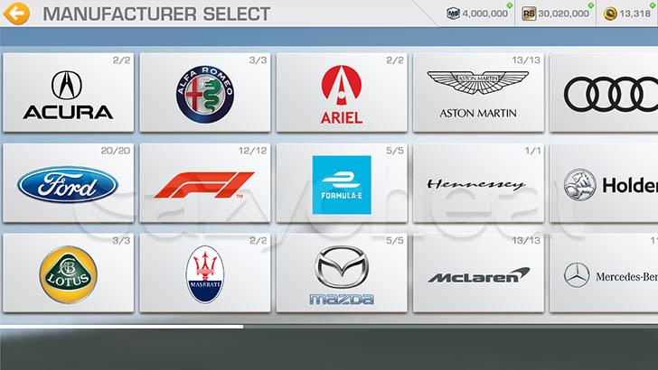 Real Racing 3 8.3.2 All Cars Unlocked