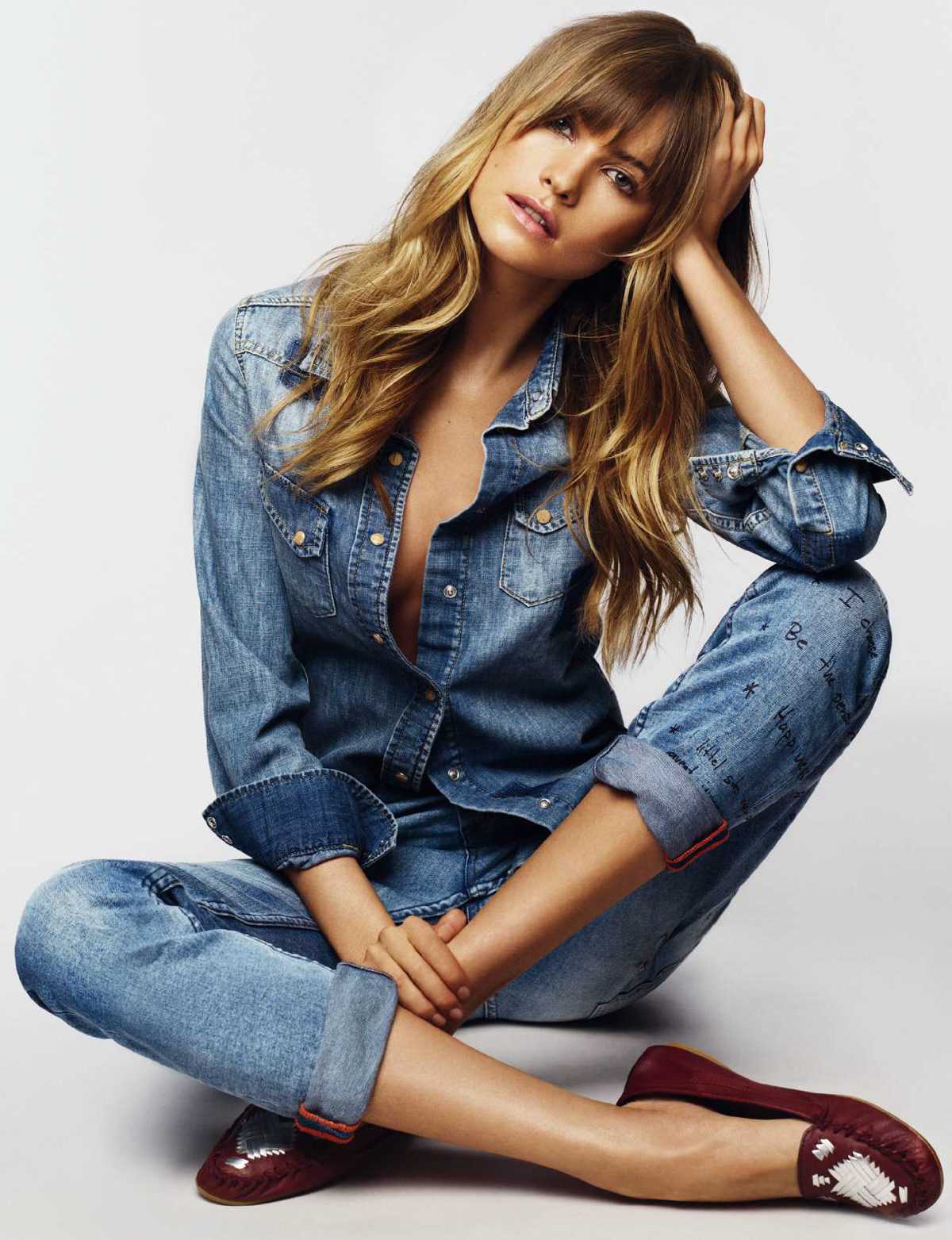 """Behati Prinsloo Fronts Free People S June E Catalog: Dreaming Of Dior: """"Effortless Style"""" Behati Prinsloo For"""
