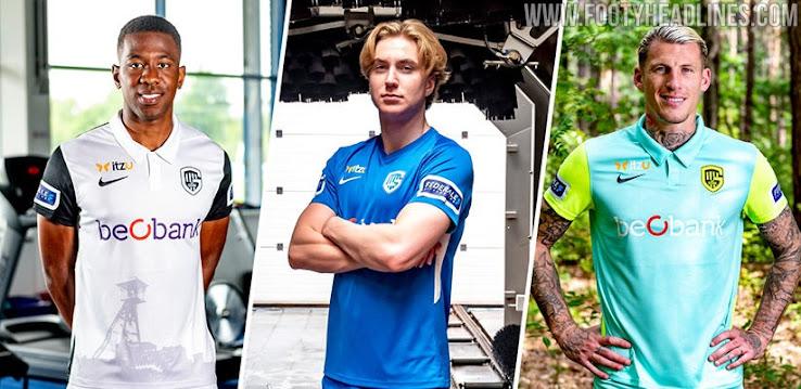 100 Teamwear Genk 20 21 Home Away Third Goalkeeper Kits Released Footy Headlines