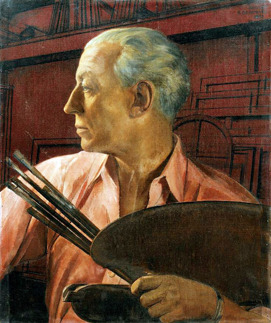 Bernard Boutet de Monvel, Self Portrait, Portraits of Painters, Fine arts, Portraits of painters blog, Paintings of Bernard Boutet, Painter Bernard Boutet