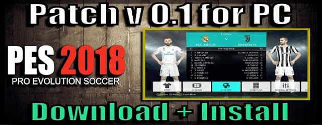 Patch for PC PES 2018