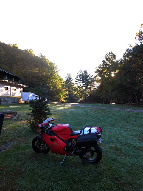 Ducati in Maggie Valley North Carolina