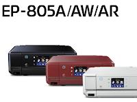 Epson EP-805A ドライバ ダウンロードする - Windows, Mac