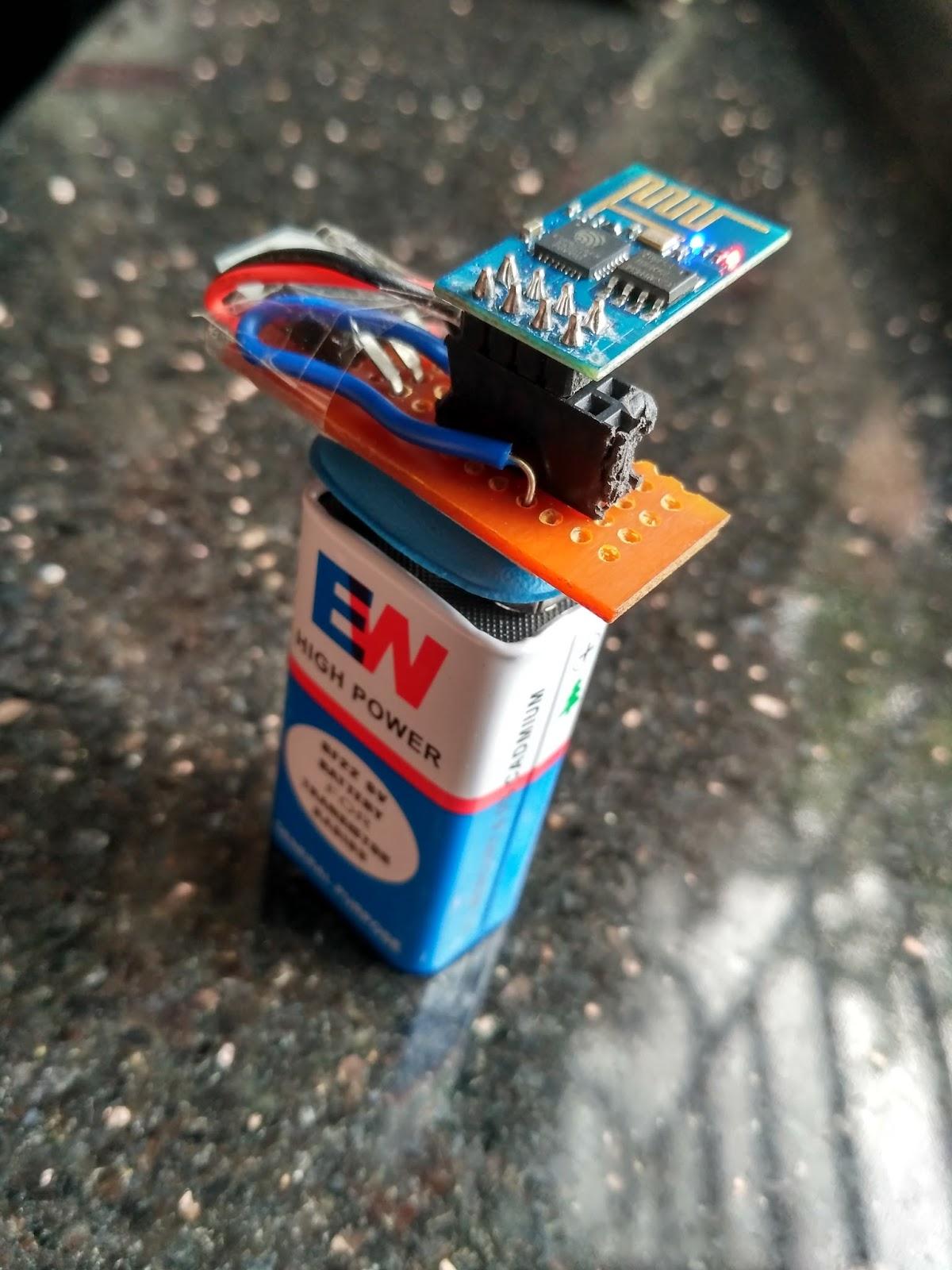 ESP8266: Super compact WiFi Snipper for DeAuth attack
