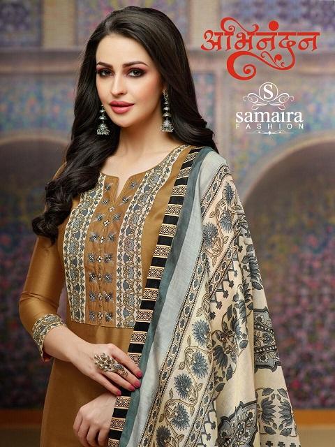 Abhinandan Cotton Suits by Samaira fashion