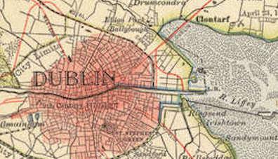 Dublin, Ireland, Waxie's Dargle