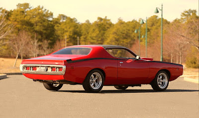1971 Dodge Charger Sport Coupe Rear Right