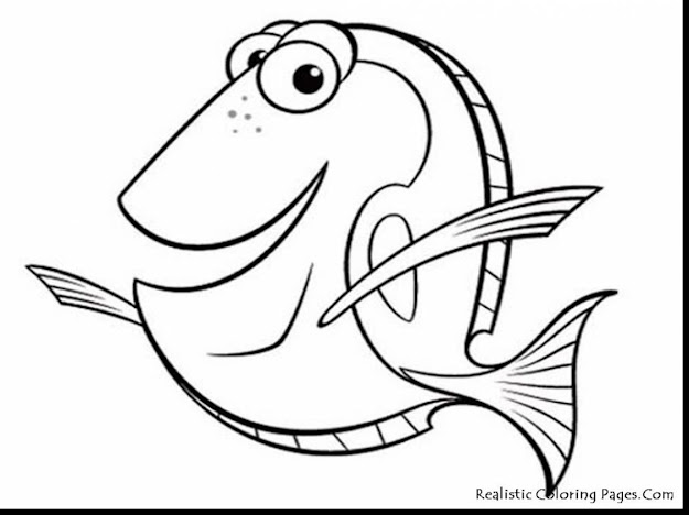 Magnificent Printable Fish Coloring Pages With Finding Nemo Coloring Pages  And Finding Nemo Coloring Pages Marlin