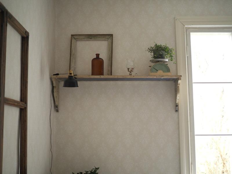 olohuone vanhassa talossa