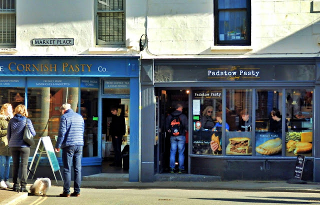 Cornish Pasty shop in Padstow, Cornwall
