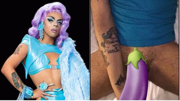 "Aja de ""RuPaul's Drag Race"" é a mais nova RuGirl a ter nudes vazadas web"
