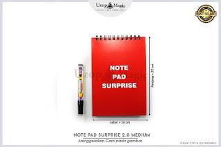 Notepad Surprise 2.0 Medium Size