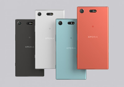 Sony Xperia XZ1 Compact Colours