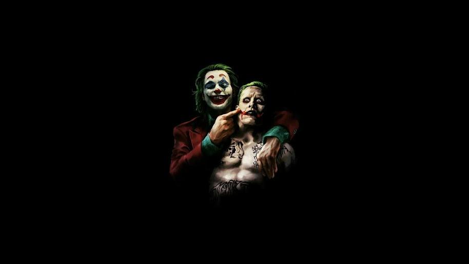 Joker 2019 Juaquin Phoenix Jared Leto 4k Wallpaper 1