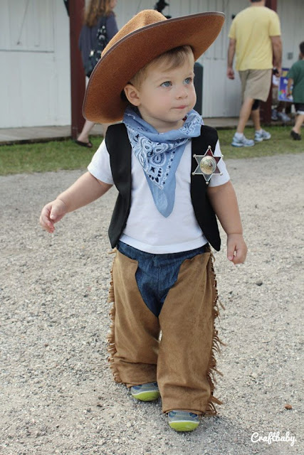 Disfraz casero de cow boy: