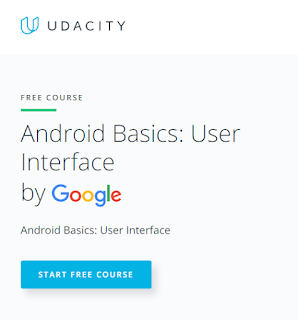 Google's Free Course on Android Basics: User Interface