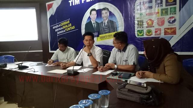 Hasil Survei LSI, Elektabilitas H Nadalsyah-Sugianto Panala Putra Unggul pada Pilbup Barut 2018