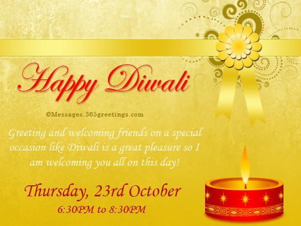 Diwali invitation cards paperinvite deepavali invitation wordings 2017 diwali party cards stopboris Gallery