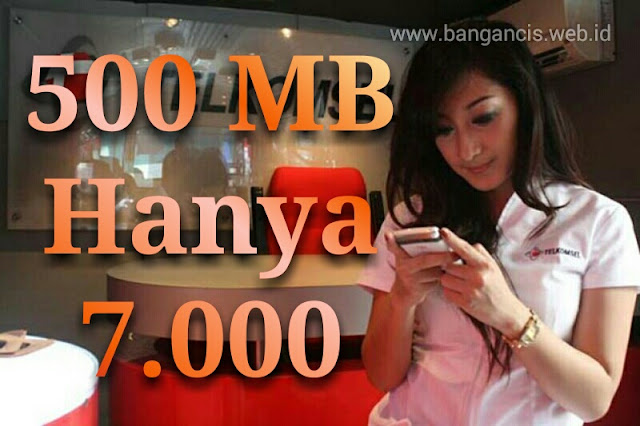 Paket Internet Simpati Murah, 7 Ribu 500MB